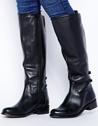 Faith Madagascar Knee High Boots Black