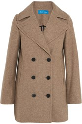M.I.H Jeans Rosen Double Breasted Wool Blend Coat Sand