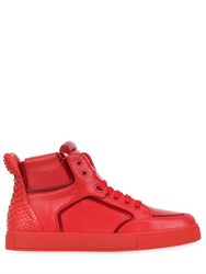 Royaums 2Andmade Leather High Top Sneakers