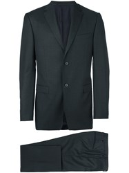Z Zegna Tailored Business Suit Black