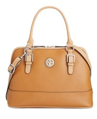 Giani Bernini Saffiano Dome Satchel Only At Macy's Rust