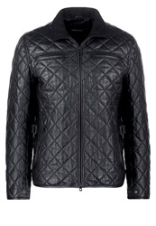 Karl Lagerfeld Leather Jacket Black