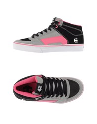 Etnies Footwear High Tops And Trainers Women Grey