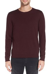 John Varvatos Men's Star Usa Crewneck Pullover Port
