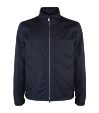 Corneliani Zip Through Blouson Male Navy