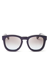 Wildfox Couture Classic Fox Sunglasses 52Mm Bloomingdale's Exclusive Navy Brown Gradient