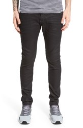 G Star Men's Raw 'Revend' Skinny Fit Coated Jeans