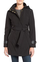 Via Spiga Women's Belted Soft Shell Coat