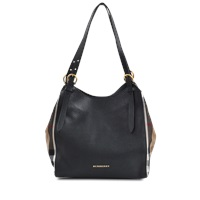 Burberry Canterbury Housecheck Leather Tote