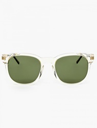 Thierry Lasry Clear Acetate ''Authority'' Sunglasses