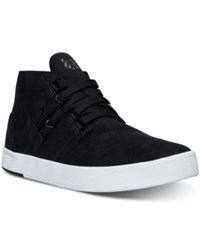 K Swiss Men's D R Cinch Chukka Casual Sneakers From Finish Line Black White