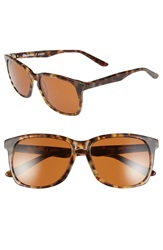 Stussy Deluxe Stussy 'Zoey' 55Mm Sunglasses Camo Tortoise Vintage Amber