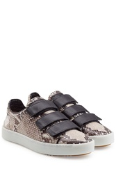 Rag And Bone Rag And Bone Kent Leather Sneakers Animal Prints