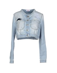 Blugirl Folies Denim Denim Outerwear Women Blue