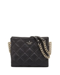 Emerson Place Quilted Leather Handbag Black Kate Spade New York