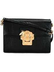 Dolce And Gabbana 'Lucia' Satchel Bag Black