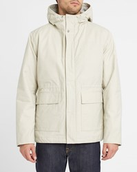 Norse Projects Ecru Primaloft Nunk Wool Lined Parka White