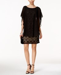 R And M Richards Lace Capelet Dress