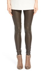 Lysse Women's Faux Leather Leggings Espresso