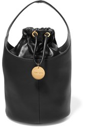 Tom Ford Miranda Leather Bucket Bag Black