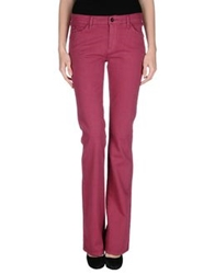 Armani Jeans Denim Pants Garnet