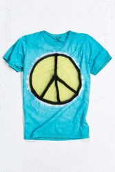 Mowgli Surf Peace Out Tee Turquoise
