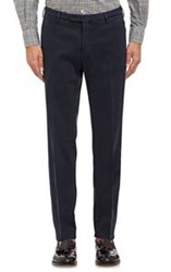 Boglioli Sueded Trousers Blue