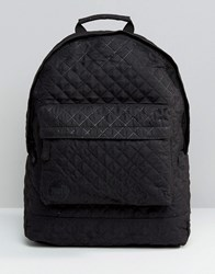Mi Pac Quilted Backpack Black Quilted