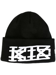 Ktz Embroidered Logo Beanie Black