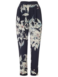 Phase Eight Lily Print Soft Trousers