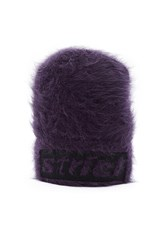 Alexander Wang Strict Fuzzy Beanie Purple