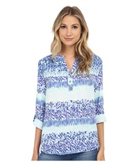 Brigitte Bailey Karen Blouse Mint Lavender Women's Blouse Multi