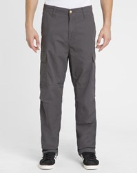 Carhartt Dark Grey Columbia Cargo Relaxed Fit Elasticated Trousers