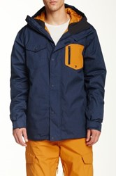 Quiksilver Versus Snow Jacket Blue
