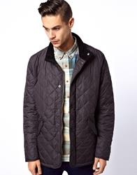 Barbour Chelsea Sports Quilted Jacket Grey
