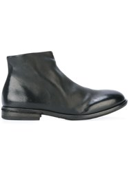 Marsell Side Zip Boots Black