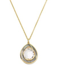 Ippolita 18K Ondine Quartz And Shell Pendant Necklace