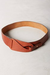Anthropologie Najoula Looped Belt Brown