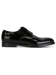 Alberto Fasciani Classic Derby Shoes Black
