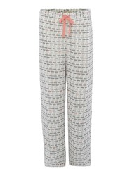 Dickins And Jones Teacup Aop Woven Trouser Wedgewood