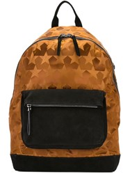 Ports 1961 'Star Camouflage' Backpack Brown