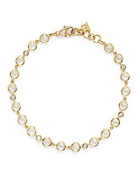 Temple St. Clair 18K Gold Small Bracelet With Royal Blue Moonstone And Diamonds