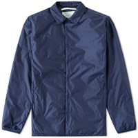 Norse Projects Jens Nylon Ripstop Overshirt Blue