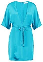 Missguided Summer Dress Turquoise