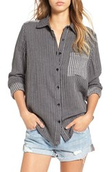 Women's Bp. Mixed Stripe Shirt