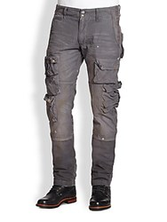 Prps Cotton Cargo Pants Grey