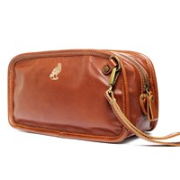 Satch And Fable Leather Dopp Kit Travel