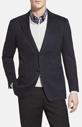 Cardinal Of Canada Men's Big And Tall Classic Fit Cashmere Blazer Navy