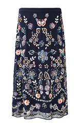 Needle And Thread Butterfly Garden Skirt Blue