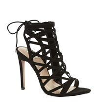 Carvela Kurt Geiger Gracie Cage High Heel Sandal Female Black